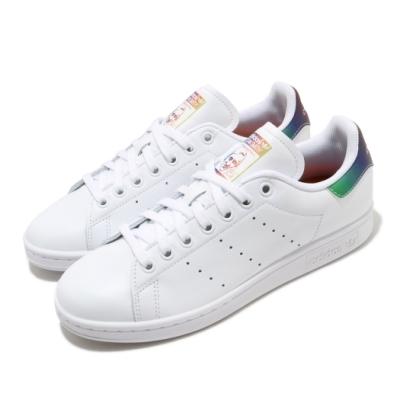 adidas 休閒鞋 Stan Smith 復古 低筒 男女鞋 愛迪達 三葉草 皮革 史密斯 情侶鞋 白 彩 FW6226