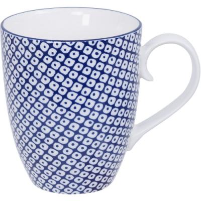 《Tokyo Design》瓷製馬克杯(網紋藍325ml)