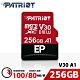 Patriot美商博帝 EP MicroSDXC UHS-1 U3 V30 A1 256G 記憶卡(PEF256GEP31MCX) product thumbnail 1
