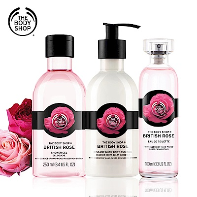 The Body Shop 英皇玫瑰嫩膚香氛組