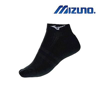 MIZUNO 女運動厚底踝襪 5入 黑 32TX931209