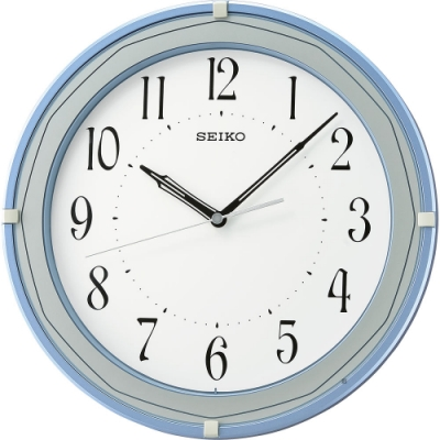SEIKO精工 歐式風格時尚掛鐘(QXA748L)-31.6cm