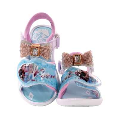台灣製迪士尼冰雪奇緣閃燈涼鞋 a04806 魔法Baby
