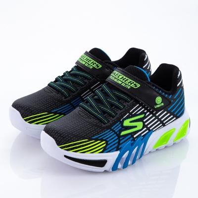 SKECHERS 男童系列 燈鞋 FLEX-GLOW ELITE - 400135LBBLM
