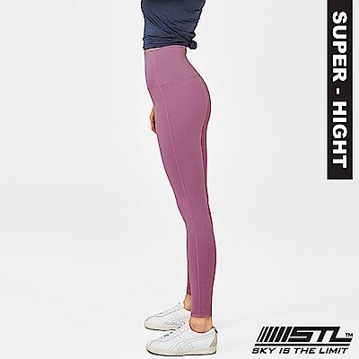STL Leggings Pure 9 韓 女 超高腰運動拉提褲 純粹蘭花