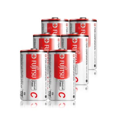 FUJITSU 日本富士通 2號鹼性電池(6顆入)