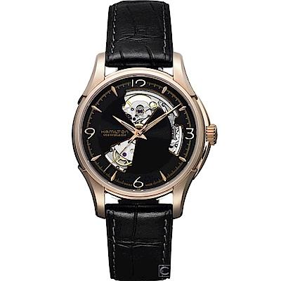 Hamilton漢米爾頓 JazzMaster 經典鏤空 機械錶(H32575735)