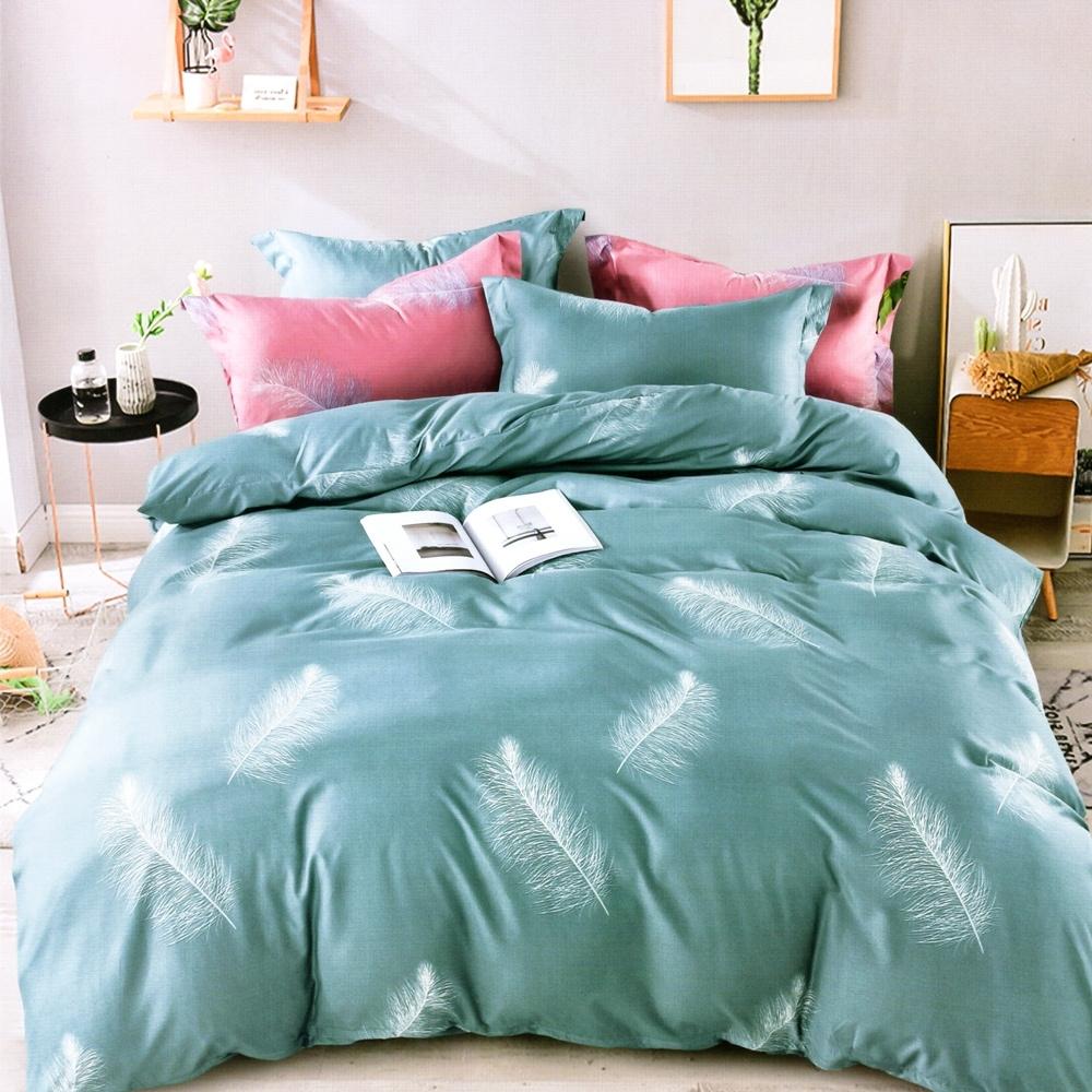 A-ONE 雪紡棉 單人床包/枕套 二件組 日不落 MIT台灣製