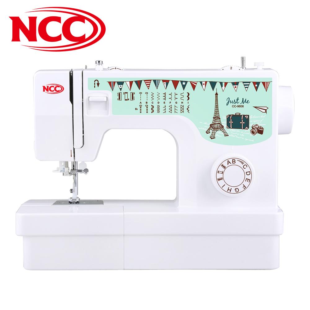 本月推薦 小資實用 喜佳NCC Just Me實用型縫紉機 CC-9806