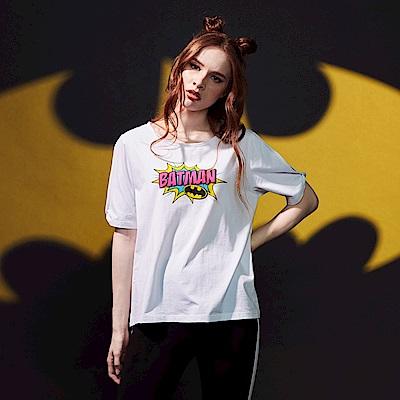 CACO-蝙蝠俠露肩上衣-女【PDC038】