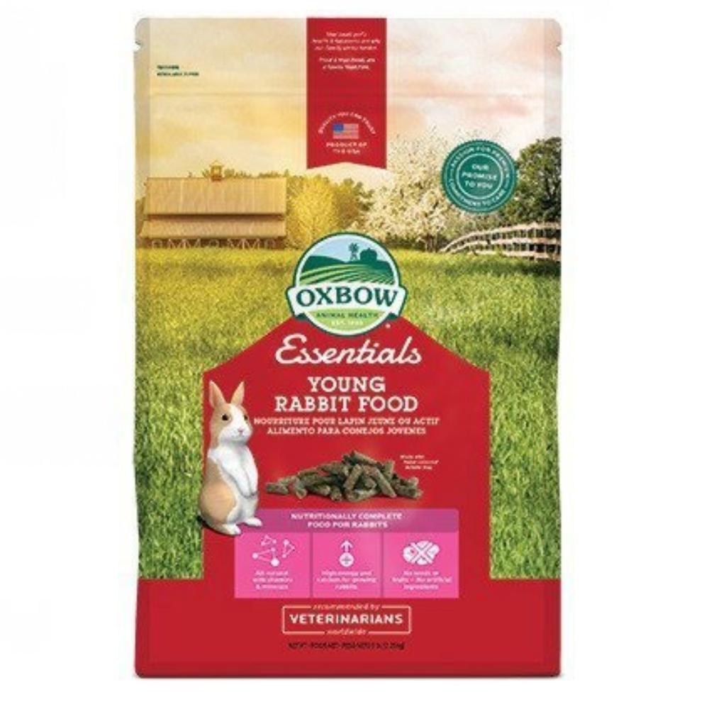 OXBOW 活力幼兔配方飼料 5磅 兩包組