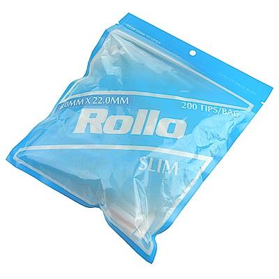 Rollo SLIM-捲煙專用加長型濾嘴(6mm)*2包