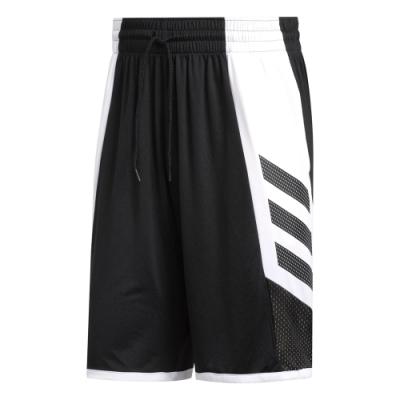 adidas 籃球褲 運動短褲 休閒 男款 黑 FH7947 Pro Madness