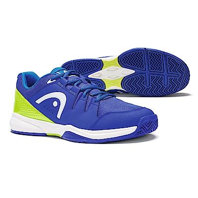 HEAD Brazer系列 男網球鞋/休閒鞋/運動鞋-藍/蘋果綠 273418