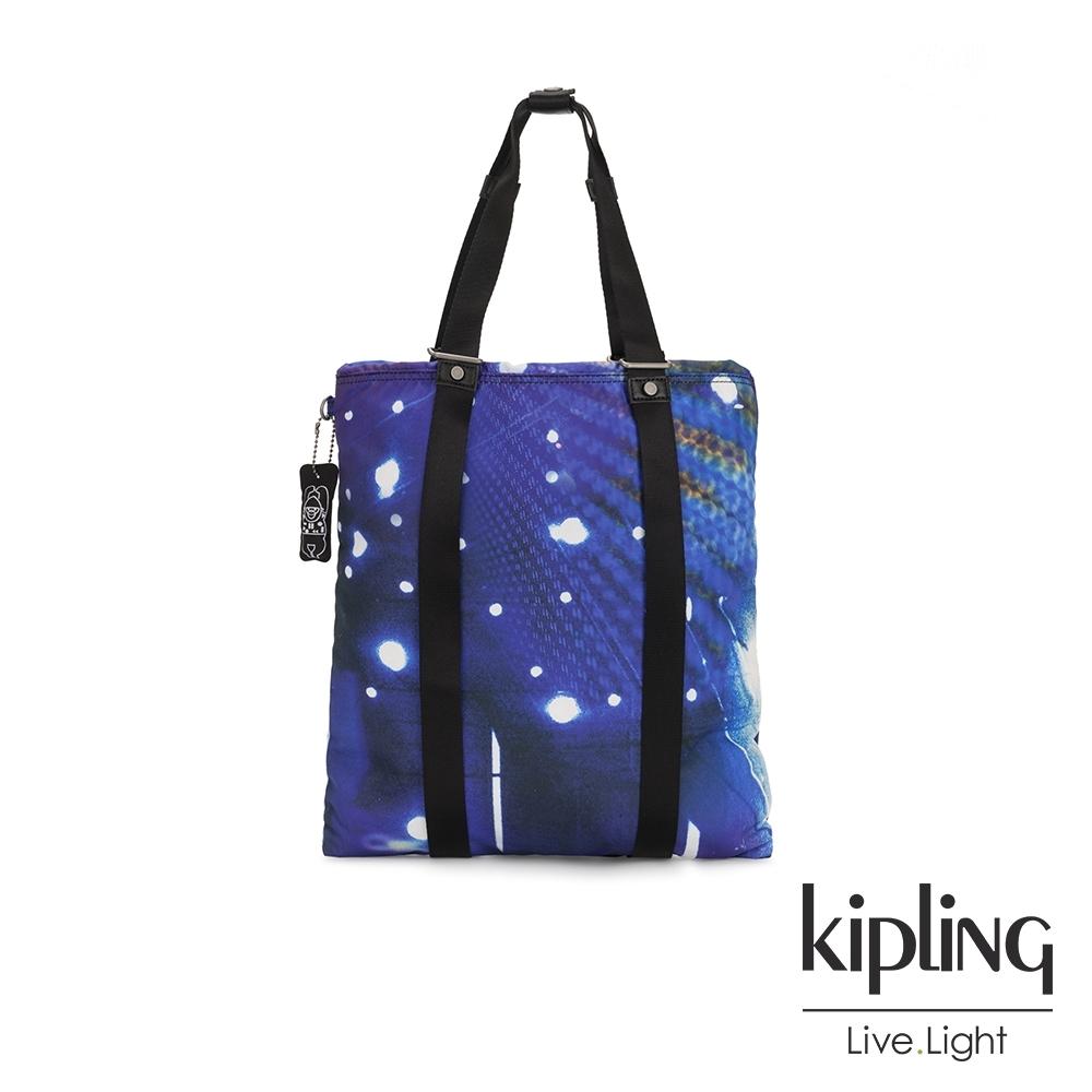 Kipling 仰望星空大容量手提帆布包-LOVILIA