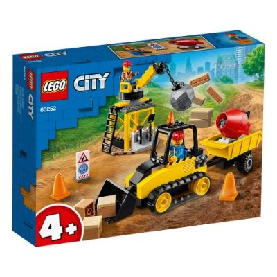 樂高LEGO 城市系列 - LT60252 工程推土機