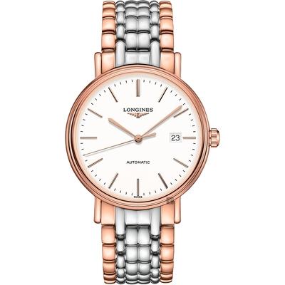 LONGINES 浪琴 Presence 經典優雅機械錶-40mm(L49221127)