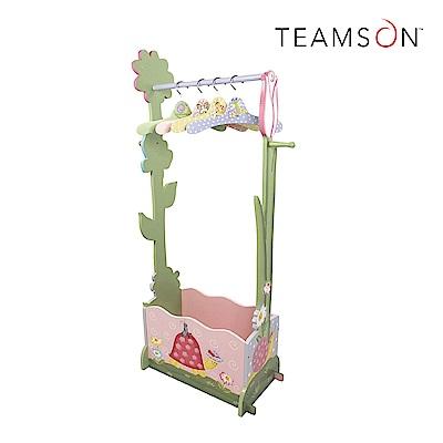 Teamson 童趣手繪木製吊掛衣櫃組 附衣架 (2款)