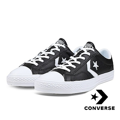 CONVERSE-STAR PLAYER OX男女休閒鞋-黑