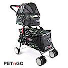 PETnGO 雙層子母寵物推車-迷彩
