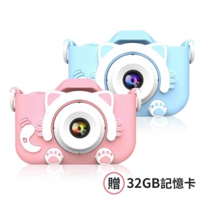兒童貓咪相機 (贈32g記憶卡)