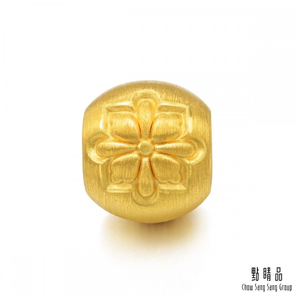 點睛品 Charme 文化祝福 幸福格桑花 黃金串珠