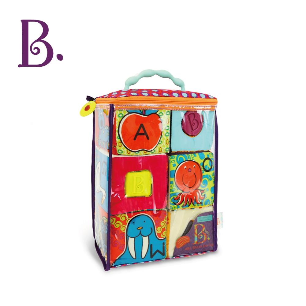B.Toys ABC方塊派對布積木(芽綠)