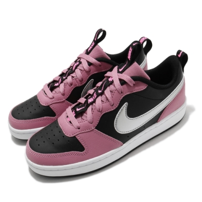 Nike 休閒鞋 Court Borough Low 2 女鞋 基本款 舒適 簡約 球鞋 穿搭 大童 黑 粉 銀 CT3964600