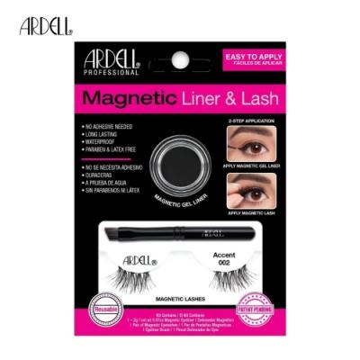 ARDELL磁吸式眼線假睫毛組 【Accent 002】眼尾加長魅力款