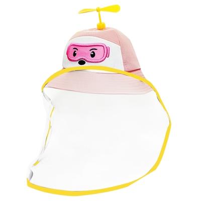 O Pretty 歐沛媞 多功能兒童防疫防護面罩式救援小隊漁夫帽 帽圍52cm-多色可選[粉/藍/黃]