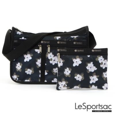 LeSportsac - Standard雙口袋A4大書包-附化妝包 (日日花)