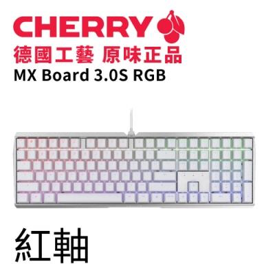 Cherry MX Board 3.0S RGB (白) 紅軸
