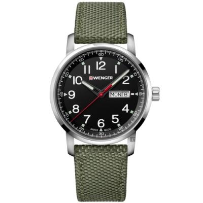 WENGER 威格 Attitude Heritage復古休閒手錶(01.1541.109)-42mm