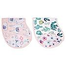 美國aden+anais幼兒打嗝巾(2入)-熱情彩繪AA7063