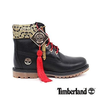 Timberland 新春限定女款黑色經典6吋靴