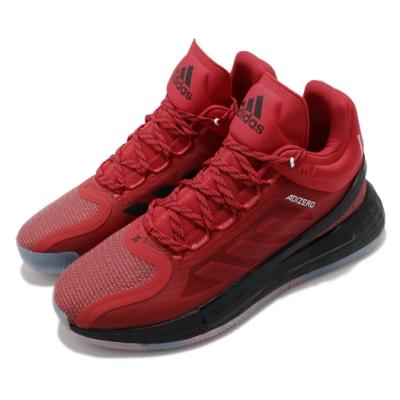adidas 籃球鞋 D Rose 11 運動 飆風玫瑰 男鞋 愛迪達 Bounce中底 緩震舒適 紅 黑 FV8927