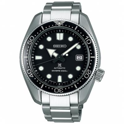 SEIKO精工 Prospex SCUBA200米潛水機械錶 6R15-04G0D(SPB077J1)-黑/44mm