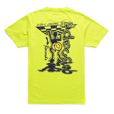 Deus Ex Machina  Bench Press Tee T恤 (螢光黃)