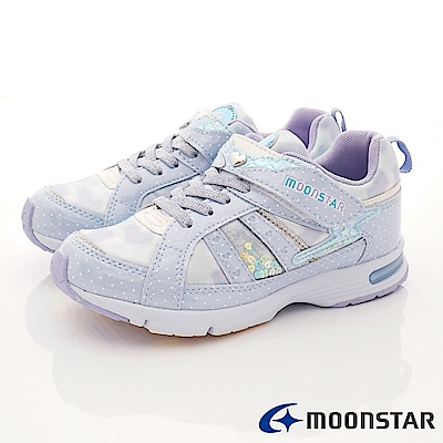 日本月星頂級競速童鞋 甜心巧克力系列 EI459藍(中大童段)