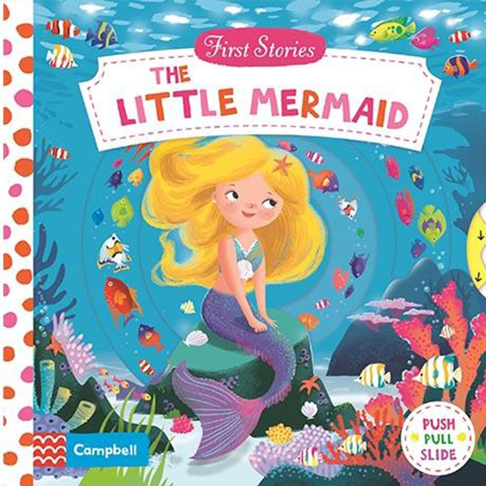 First Stories:The Little Mermaid 小美人魚硬頁拉拉操作書 product image 1