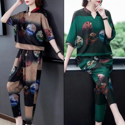 【韓國K.W】(預購)韓時尚完美曲線自然套裝褲(共2色)