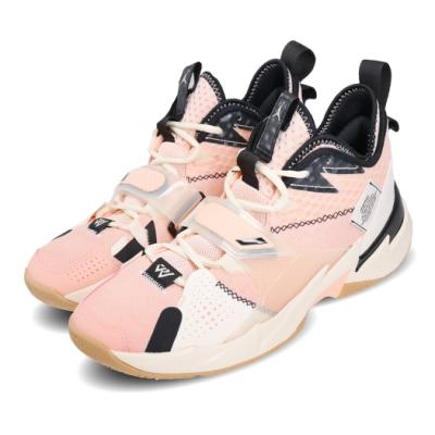 Nike 籃球鞋 Why Not Zer0 3 PF 運動 男鞋 喬丹 避震 包覆 明星款 球鞋 穿搭 粉 黑 CD3002600
