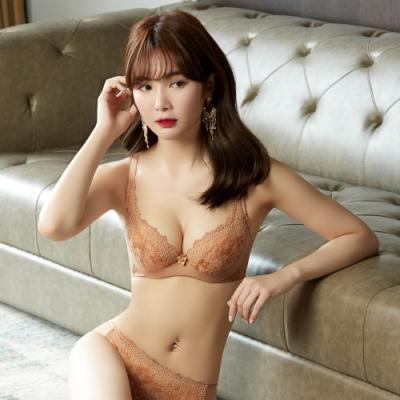 曼黛瑪璉 V極線內衣 E-F罩杯(杏桃橘)