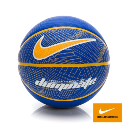 NIKE DOMINATE 8P RUSH BLUE/AMARILLO/ 7 籃球 藍黃