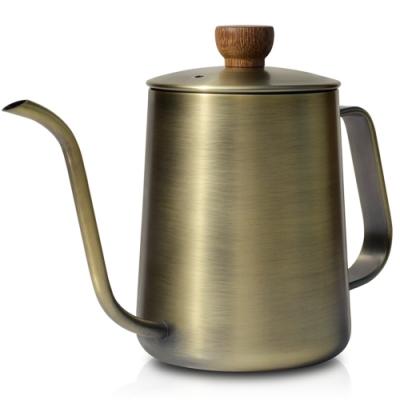 CUG 咖啡細口手沖壺600ml-青銅色