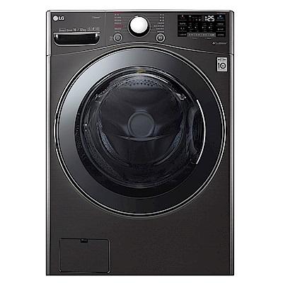 LG樂金  19公斤 蒸洗脫烘 滾筒洗衣機 WD-S19VBS 尊爵黑