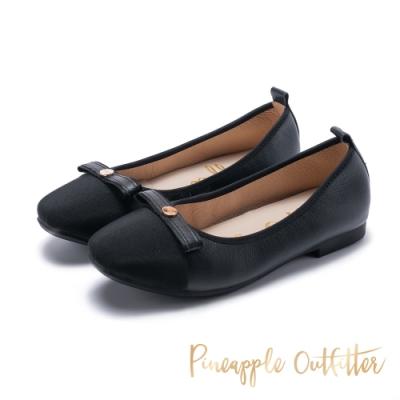Pineapple Outfitter-BRENTA時尚名媛平底娃娃鞋-黑色