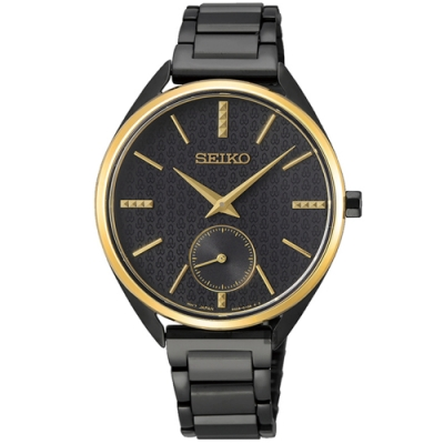 SEIKO精工 CS 50 周年紀念款小秒針女錶(SRKZ49P1)-35mm