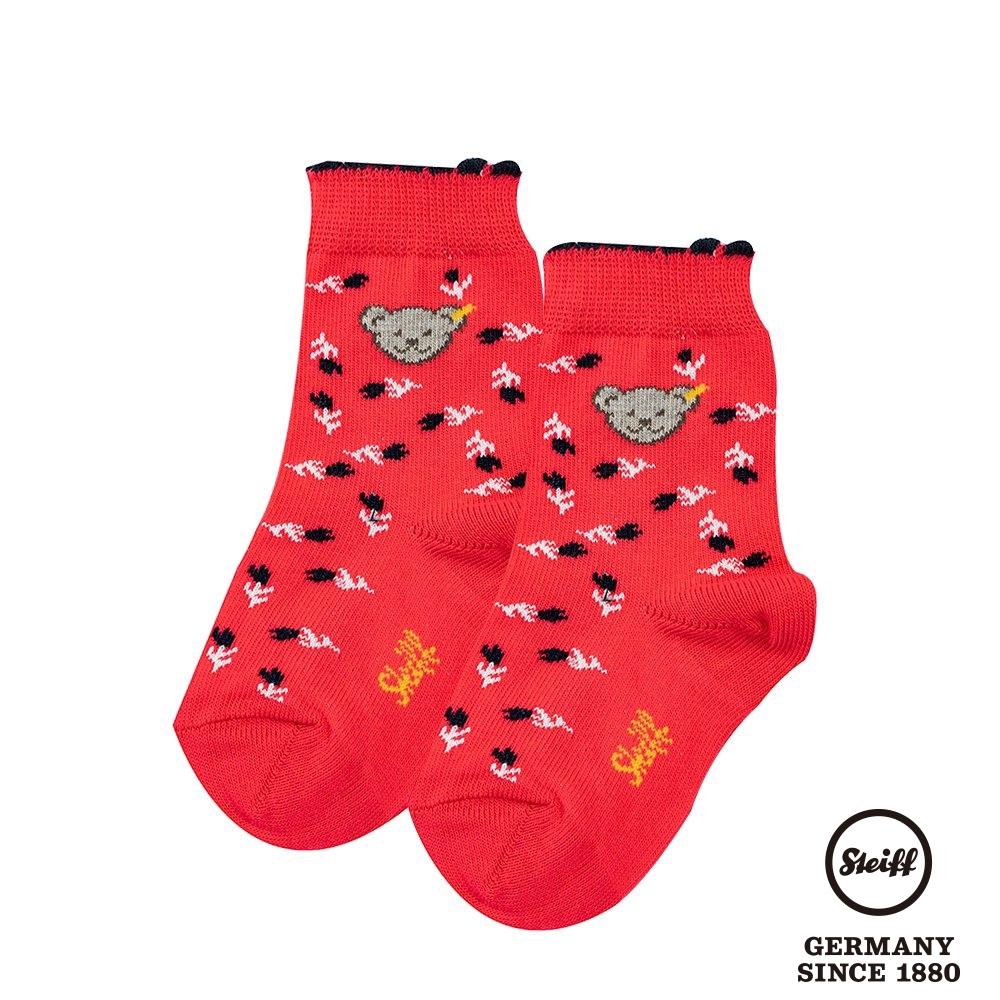 STEIFF德國精品童裝  熊熊短襪  (花朵)