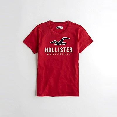 Hollister HCO  短袖 T恤 紅色 1075